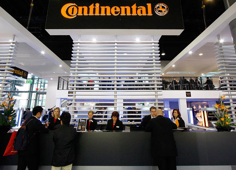 Messefotografie: Stand Continental IAA, Messe Frankfurt am Main