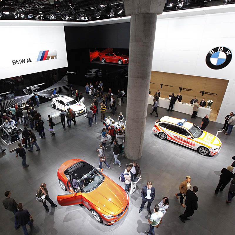 Messefotografie: Stand BMW IAA, Messe Frankfurt am Main